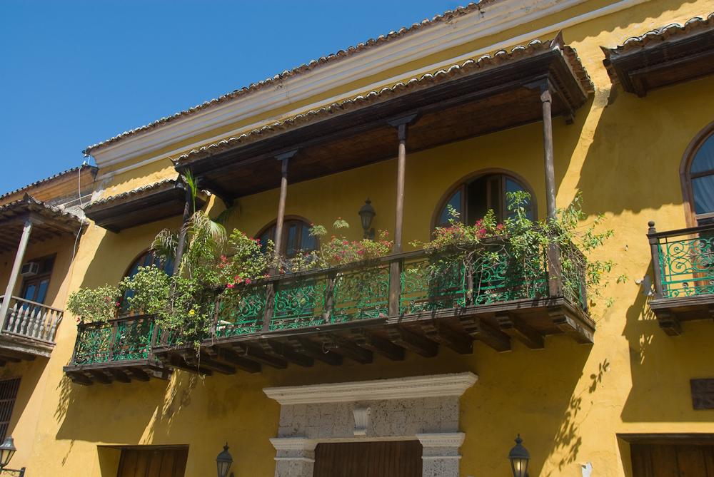 Cartagena's Balconies