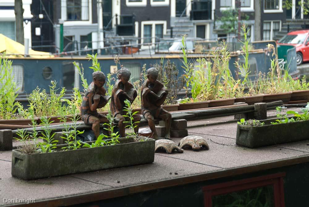 House boat, Amsterdam