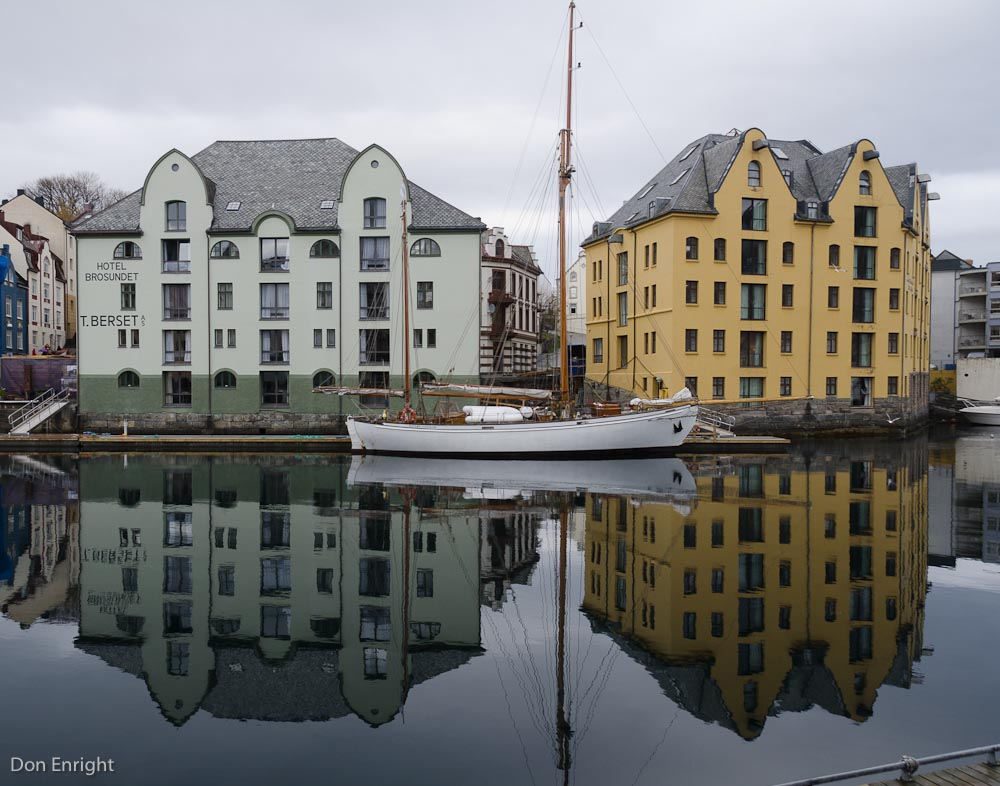 Inner harbour, Alesund