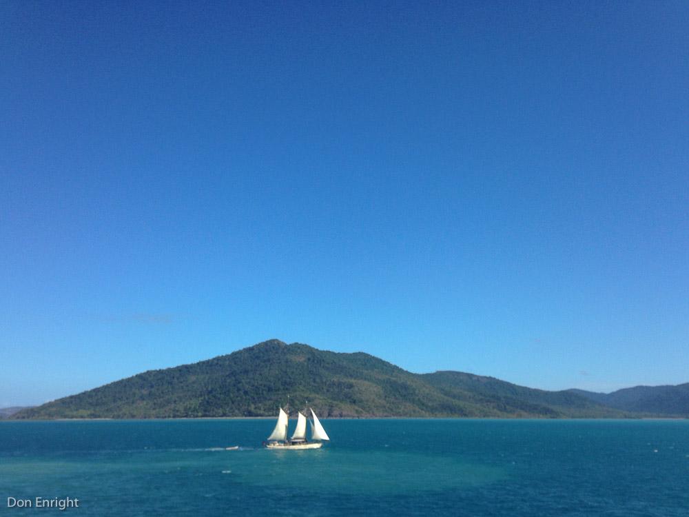 Sailing, drinking. No problem.