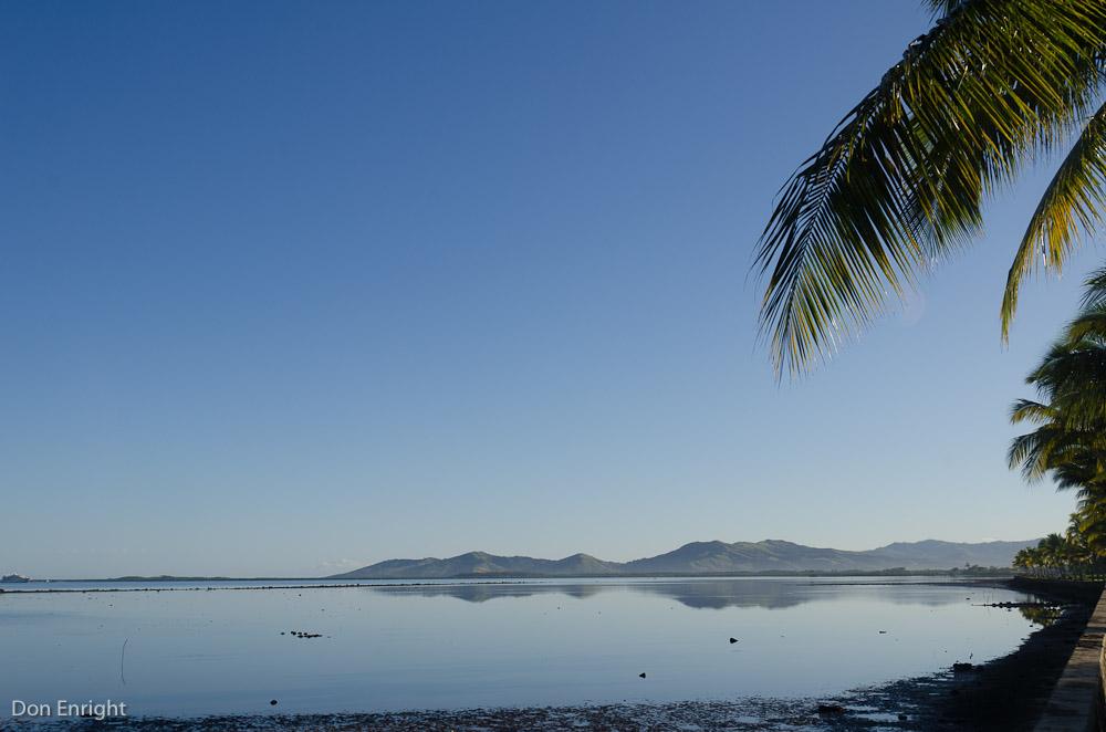 Fiji shore line