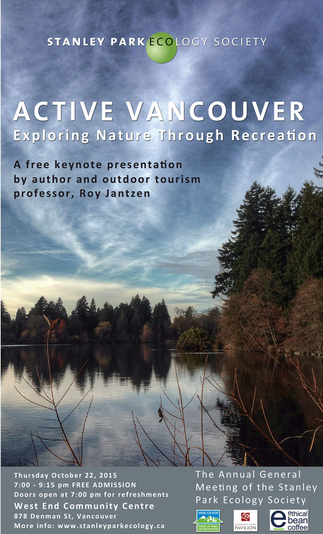 Poster, Stanley Park Ecology Society AGM