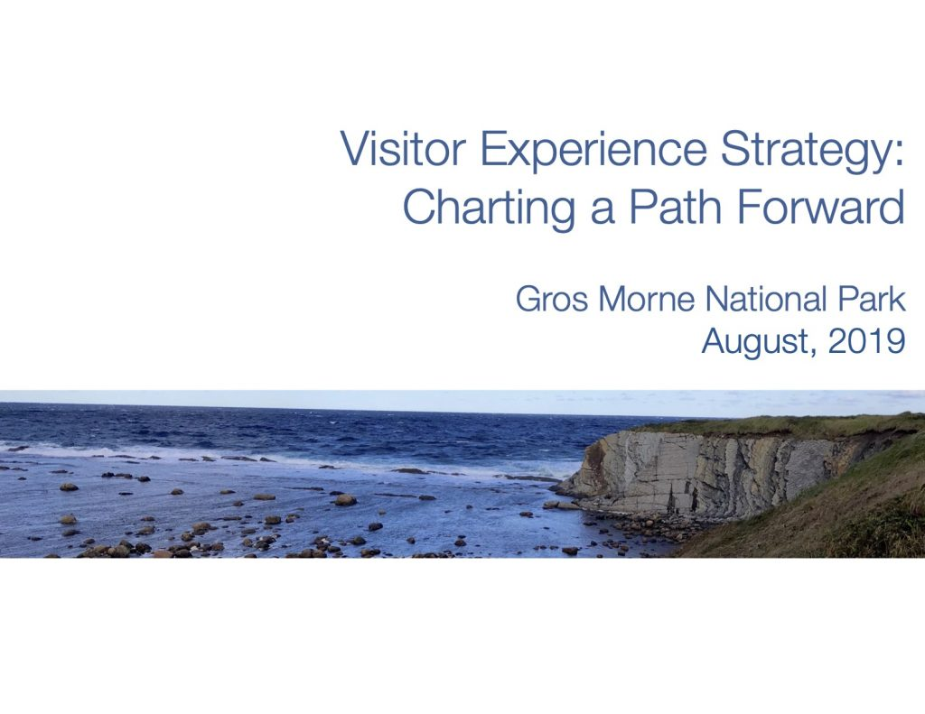 cover gros morne ve strategy