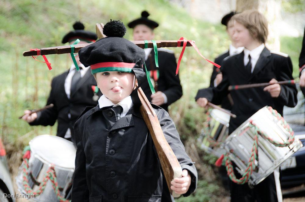 buekorps boy marching