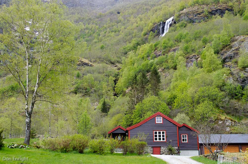Farmhouse, Flam, Norway