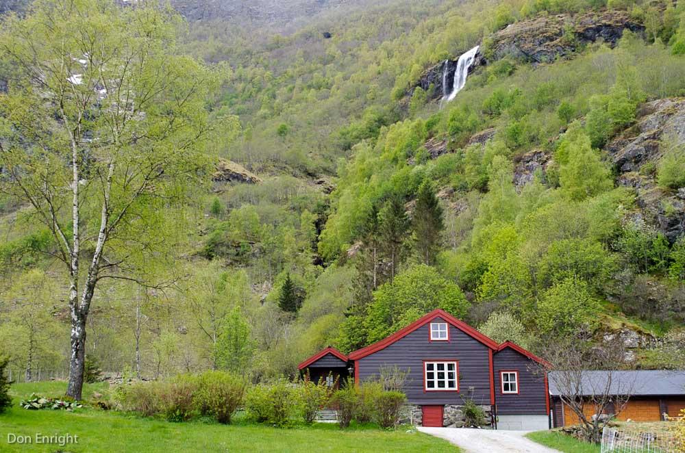 Farmhouse, Flam, Norway