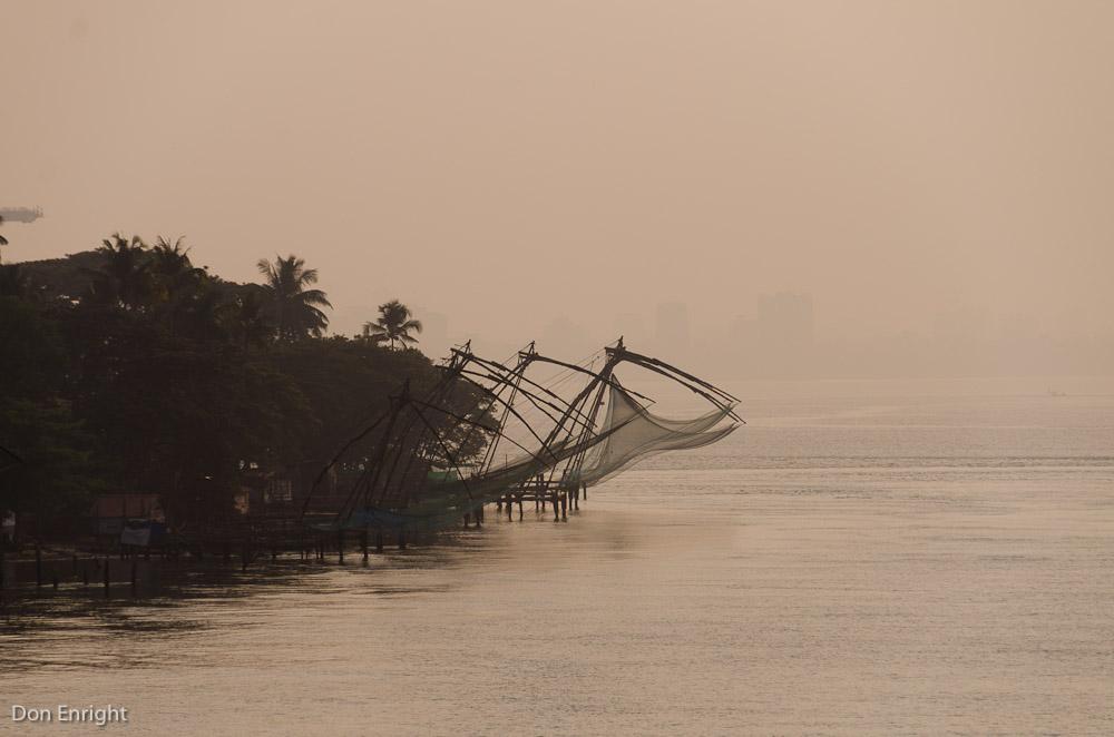 fishing nets, Kochi India