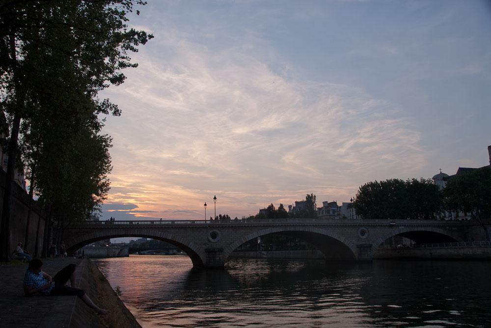 bridge, paris