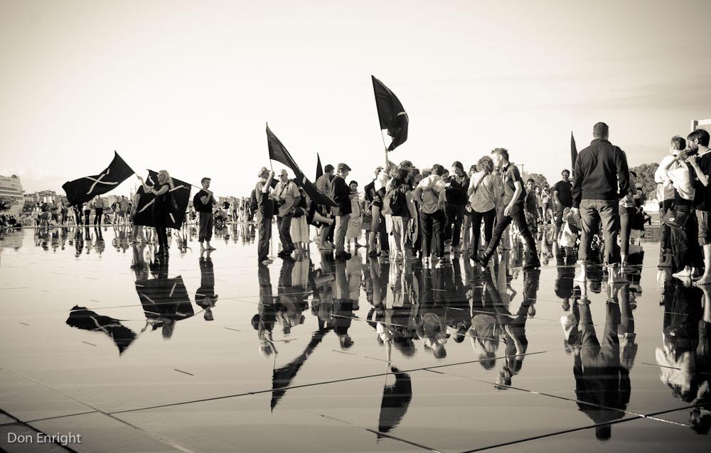 Demonstration, Bordeaux