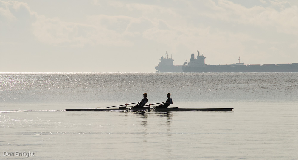 two rowers