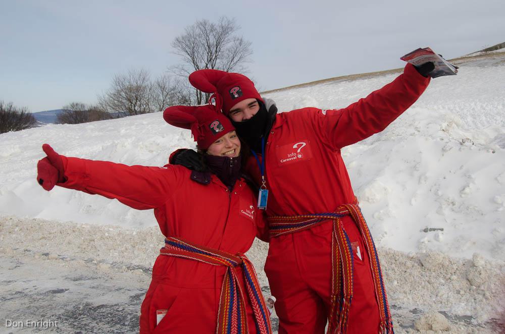 Information officers, Carnival Quebec